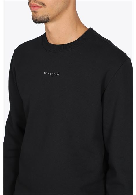 crewneck visual 1017 ALYX 9SM | -108764232 | AVUSW0011FA01 CREW NECK VISUALBLACK