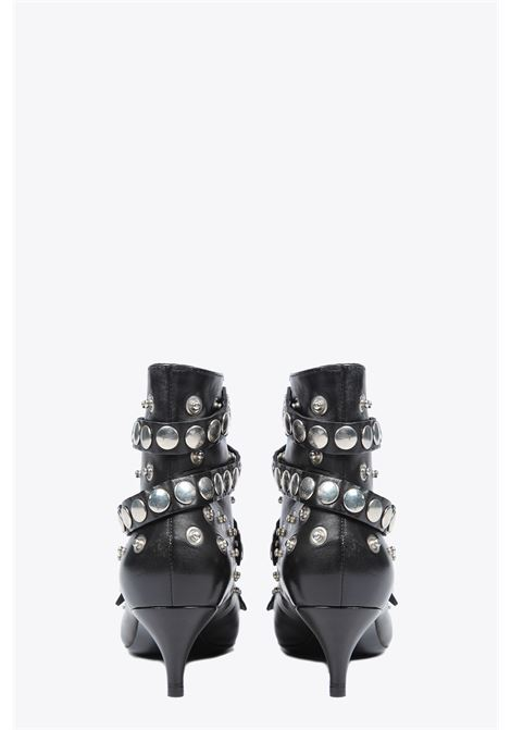 STUDDED ANKLE BOOTS ALCHIMIA | 76 | 12230BLACK