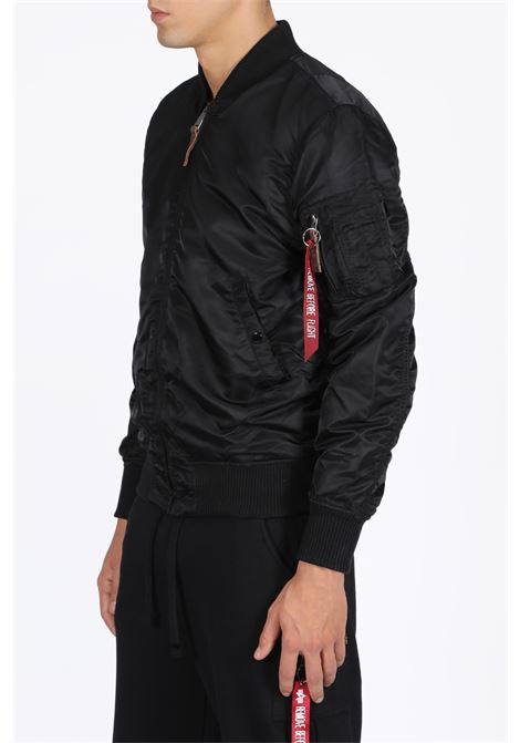 ma1 vf59 long bomber nero  ALPHA INDUSTRIES | -276790253 | 16810003