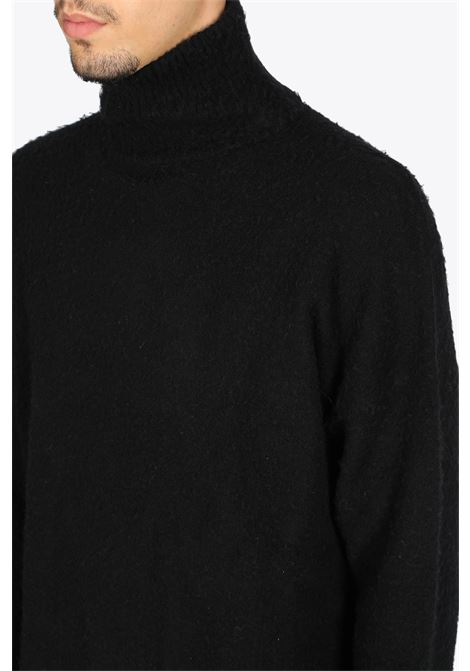 bouclè knit BONSAI | -1384759495 | KN011BLACK