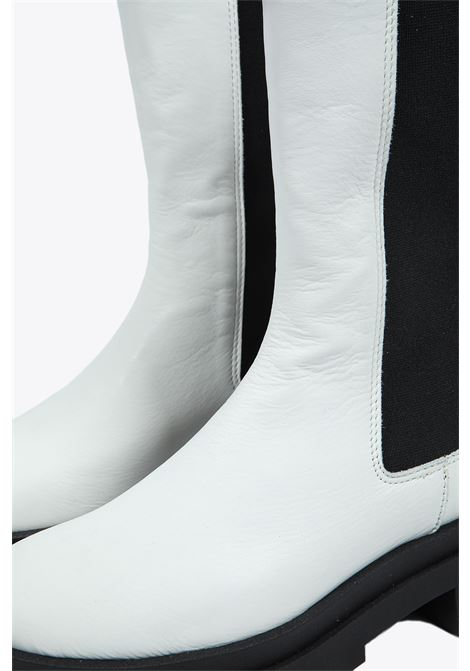 CALF-LENGHT BOOTS DRESSISM | 76 | HOLLYWHITE
