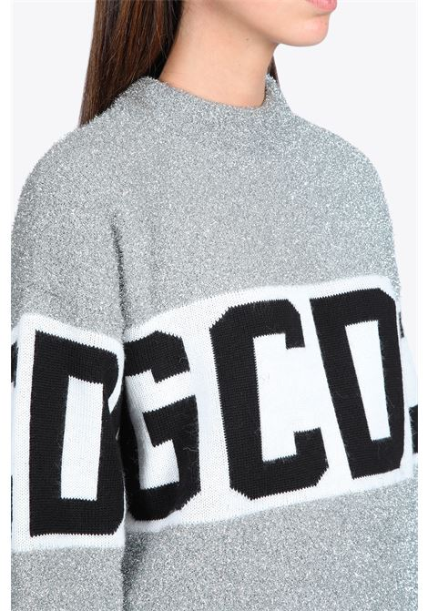 LOGO LUREX SWEATER GCDS | -1384759495 | CC94M022202 LOGO LUREX SWEATER17