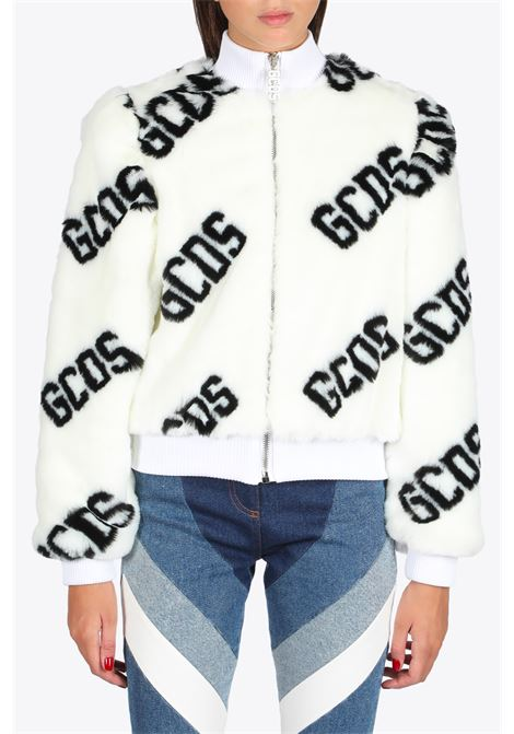 GCDS | 3 | FW21W040054 FUR MINI JACKET01