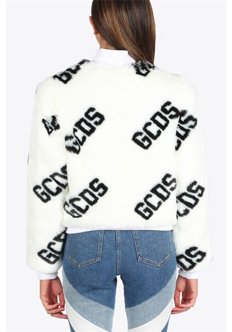 FUR MINI JACKET GCDS | 3 | FW21W040054 FUR MINI JACKET01