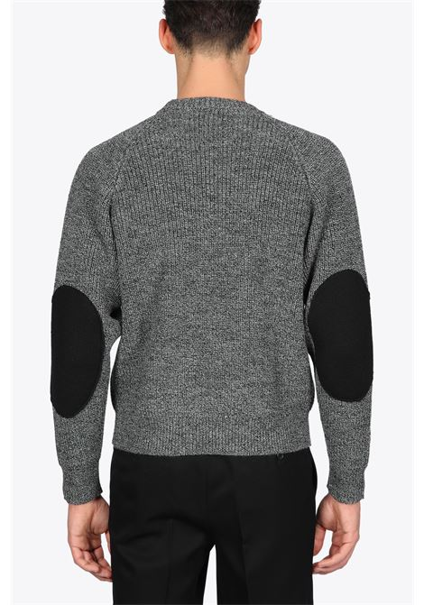 RAGLAN SELEEVES SWEATER WITH PATCH GRIFONI | -1384759495 | 1100321679