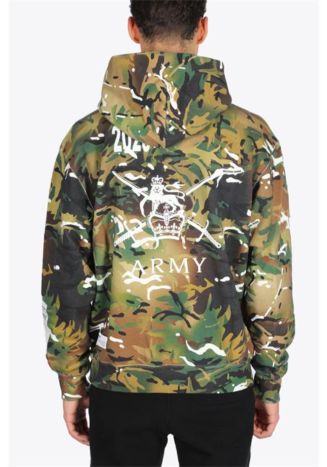 CLASSIC HOODIE LION HERON PRESTON | -108764232 | HMBB010F20JER0085901 CLASSIC HOODIE LIONCAMOUFLAGE/WHITE