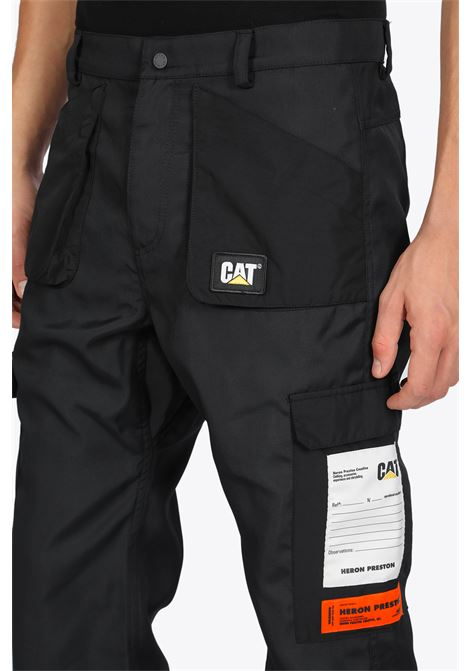 CAT POCKETS pants HERON PRESTON | 9 | HMCA032F20FAB0011000 CAT POCKETSBLACK
