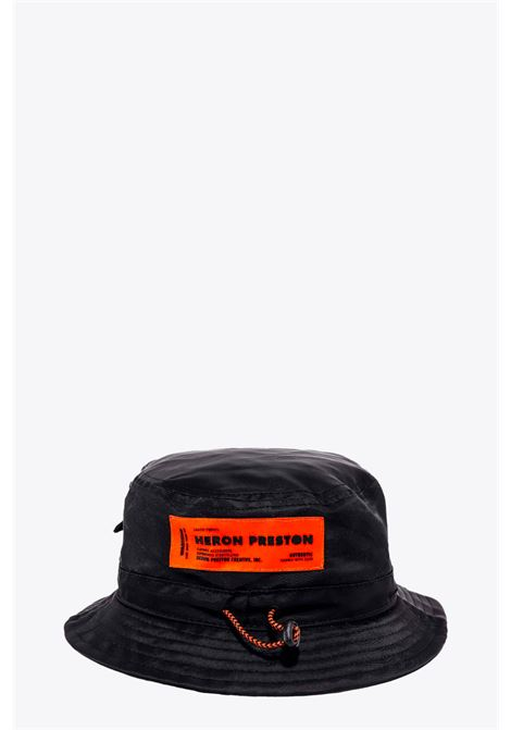 BUCKET HAT HERON PRESTON | 26 | HMLB005F20FAB0011001 BUCKET HATBLACK/WHITE