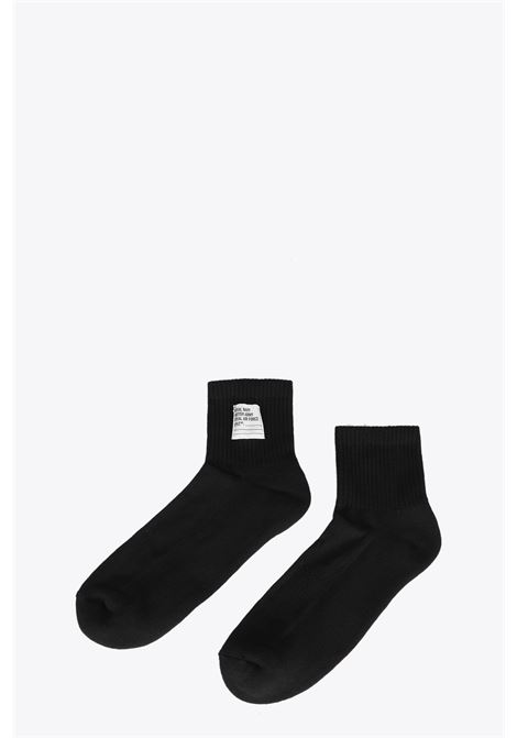 SHORT SOCKS HERON PRESTON | 33 | HMRA005F20KNI0021000 SHORT SOCKSBLACK