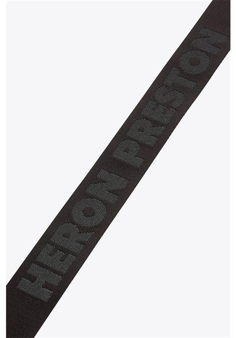 classic buckle tape belt HERON PRESTON | 22 | HMRB005F20MAT0011076 CLASSIC BUCKLEBLACK/GOLD