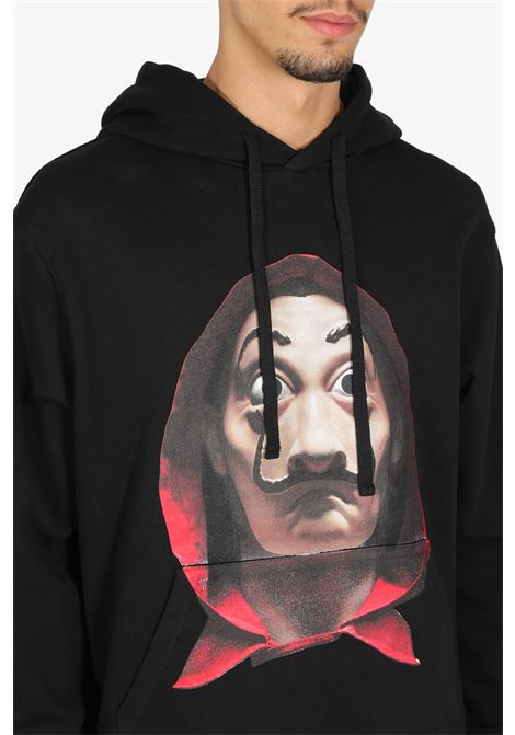 hoodie dali mask + logo in back IH NOM UH NIT | -108764232 | NUW20279 DALI MASK009