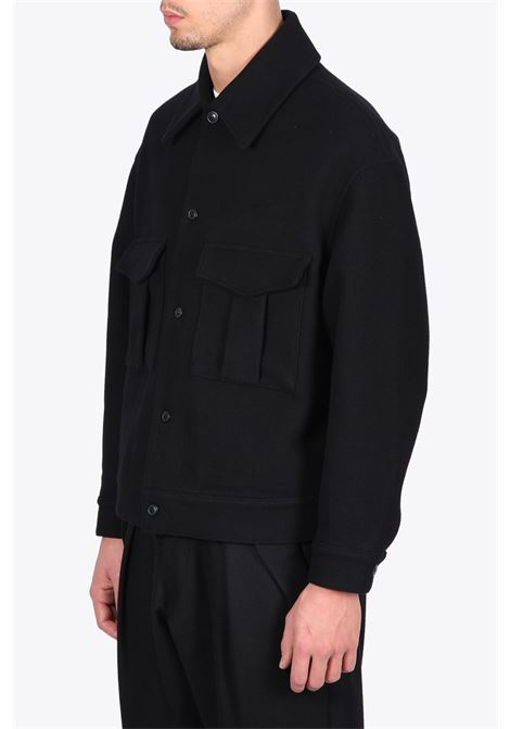 MILITARY JACKET LOWNN | 3 | MILITARY JACKETBLACK