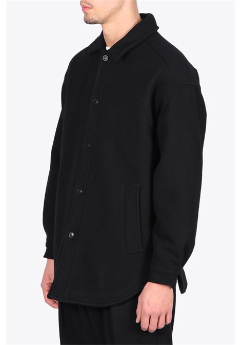 QUILTED SHIRT COAT LOWNN | 6 | QUILTED SHIRT COATBLACK