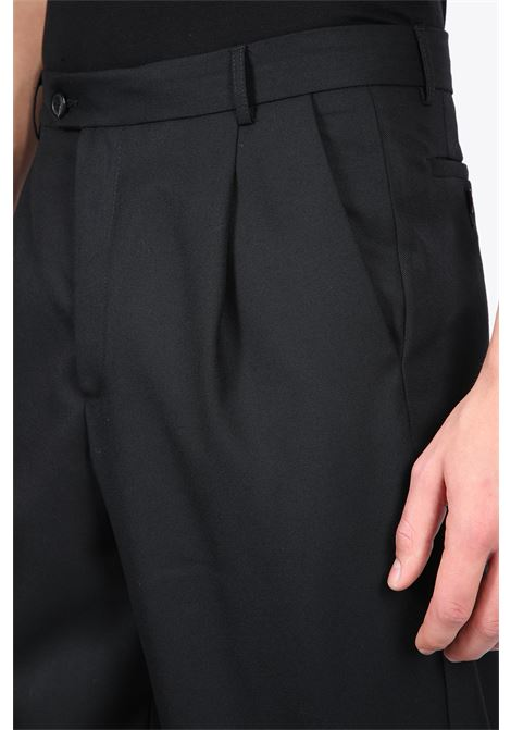 TAPERED LEGS TROUSERS LOWNN | 9 | TAPERED LEGS TROUSERSBLACK