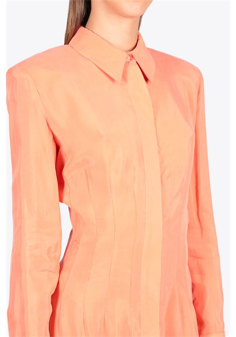LIGHTWEIGHT BUTTON DOWN SHIRT MATERIEL | 6 | 9555 LIGHTWEIGHT BUTTON DOWN SHIRTPEACH