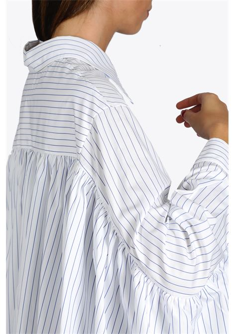 STRIPED MAXI SHIRT/DRESS MM6 MAISON MARGIELA | 6 | S32CU0149 S53088002F