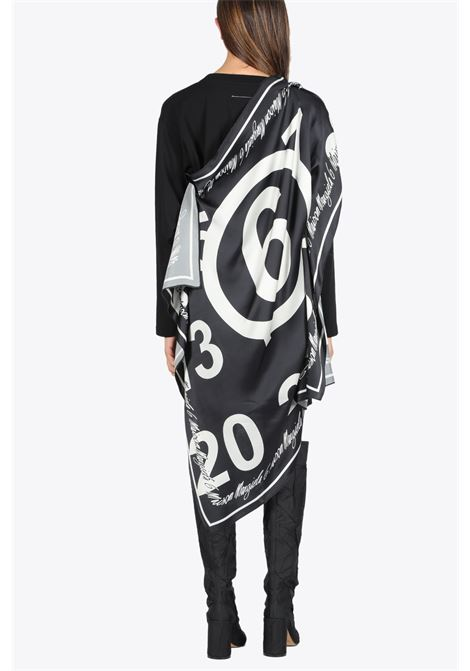 LOGO SCARF DRESS MM6 MAISON MARGIELA | 11 | S32GC0572 S23588965
