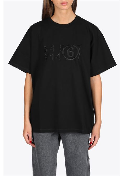 EMBROIDERED LOGO TEE MM6 MAISON MARGIELA | 8 | S32GC0580 S23082900
