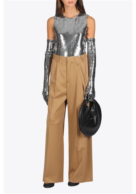 METALLIC BODYSUIT MM6 MAISON MARGIELA | 32 | S32NA0045 S23734905