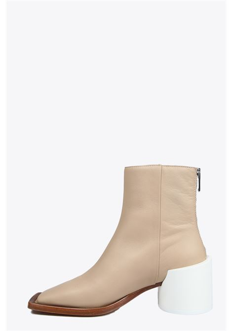 SQUARED TOE ANKLE BOOTS MM6 MAISON MARGIELA | 10000042 | S66WU0059 PR5162061