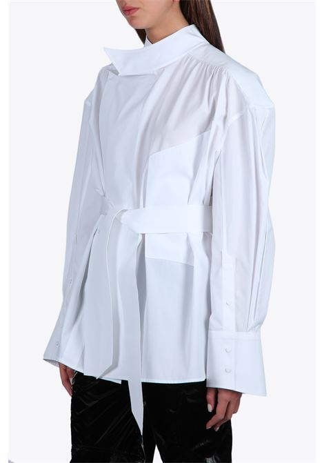 OVERSIZED SHIRT WITH BELT MUGLER | 6 | TO05361000