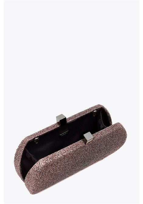 RIBBED LUREX CLUTCH NALI | 30000046 | WIPC0042FUXIA