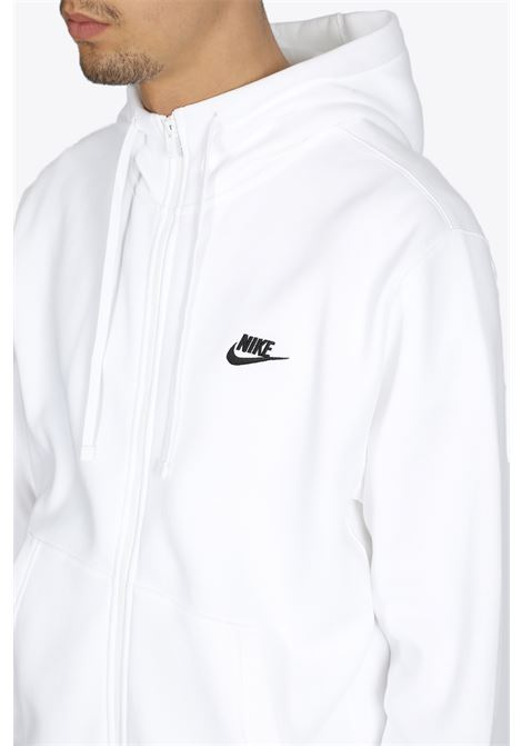 NIKE | -108764232 | BV2645-100 FLEECE ZIP HOODIEWHITE