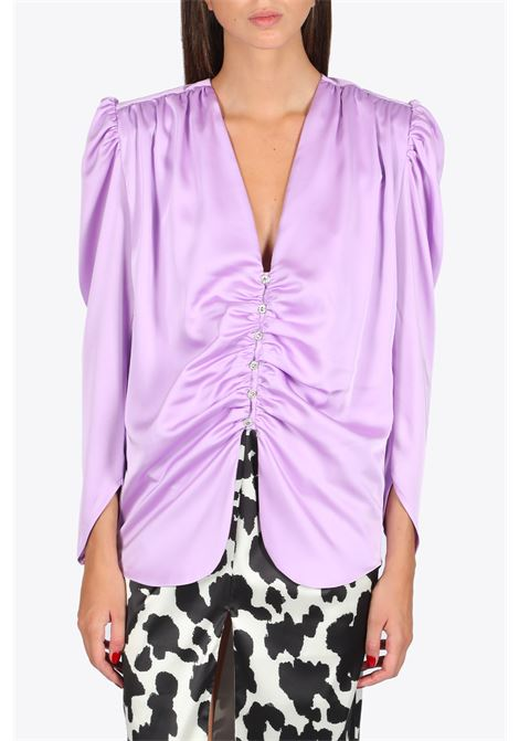 Satin Blouse NINEMINUTES | 6 | THE FEMME SHIRTLILLAC