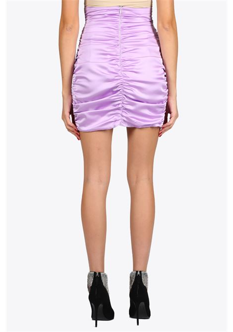 Draped mini skirt NINEMINUTES | 15 | THE VERTIGO SKIRTLILLAC