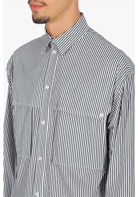box logo striped p det shirt OPENING CEREMONY | 6 | YMGA003F20FAB005 BOX LOGO STRIPED P DET0210