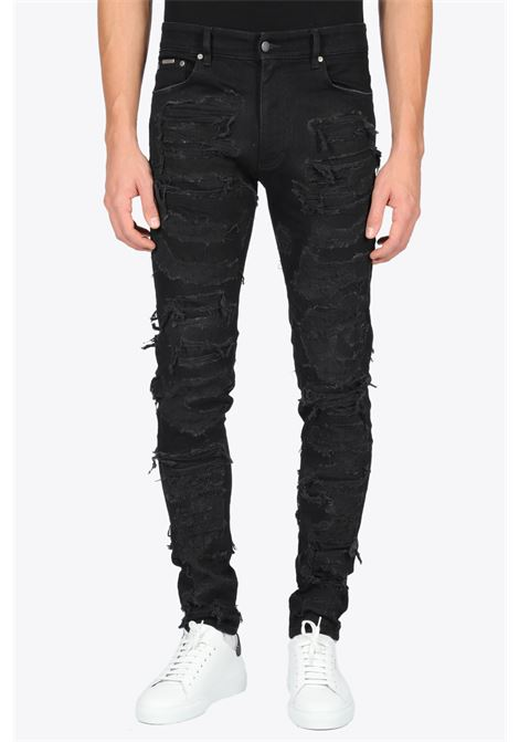 SHREDDED DENIM REPRESENT | 9 | m07047 shredded denim001