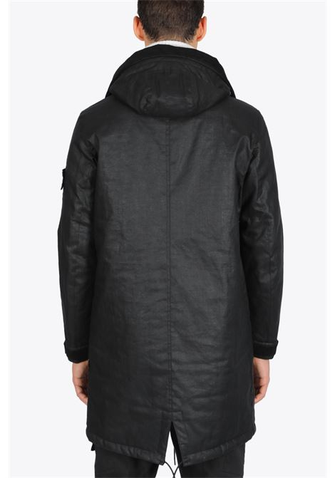 FISHTAIL PARKA STONE ISLAND SHADOW PROJECT | 17 | 7319704B3 V0029BLACK