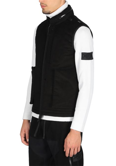 FRAG COLLAR VEST STONE ISLAND SHADOW PROJECT | -276790253 | 7319G01B2 V0029BLACK