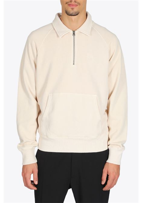 POLO ZIP FLEECE STUSSY | 2 | 118386 POLO ZIP FLEECEBEIGE