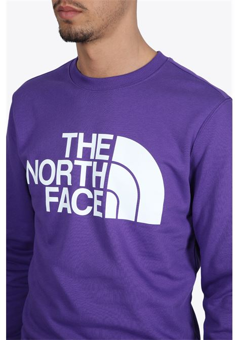 standard crew THE NORTH FACE | -108764232 | NF0A4M7WNL41PURPLE