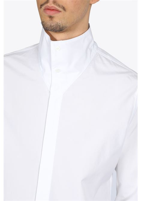 1017 ALYX 9SM | 6 | AAMSH0024FA02 HIGH COLLAR SHIRTWHITE