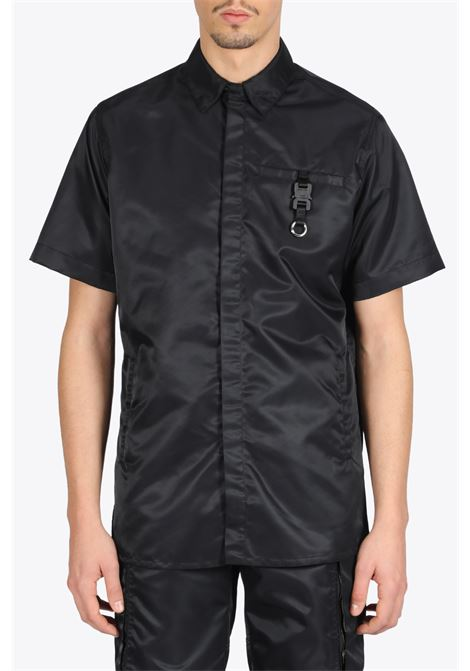 BLACK S/S BUTON UP W/ BUCKLE 1017 ALYX 9SM | 6 | AAMSH0025FA01 BLACK S/S BUTON UP W/ BUCKBLACK