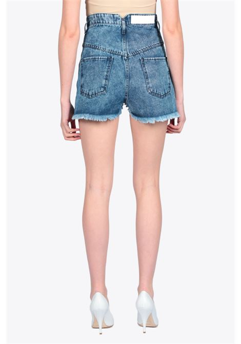 HIGH WAIST DENIM SHORTS ACTUALEE | 30 | 001 JE 196UNICA