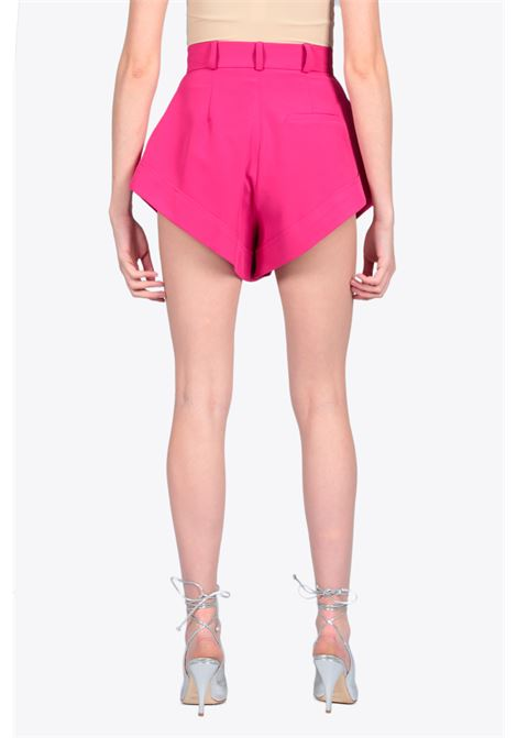 HIGH WAIST SHORTS ACTUALEE | 30 | 4109 PA2687FUXIA