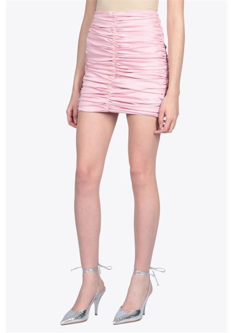DRAPED MINI SKIRT ACTUALEE | 15 | 4140 GO3435PINK