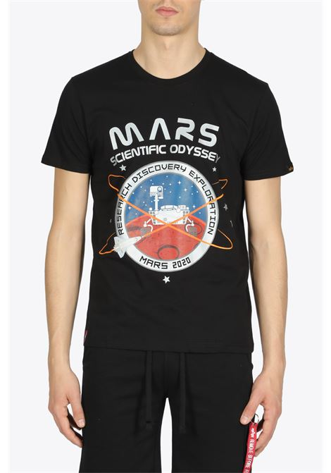 mission to mars tee ALPHA INDUSTRIES | 8 | 126531 MISSION TO MARS TEE03