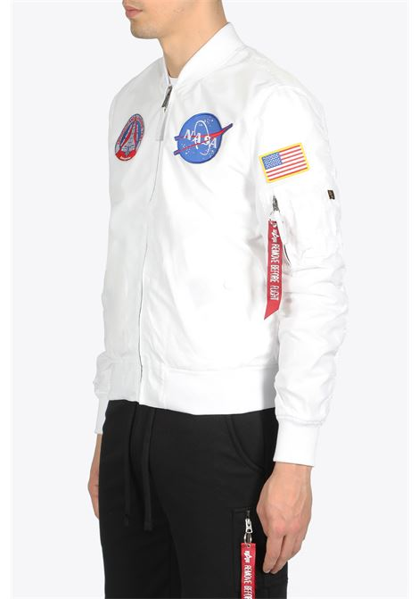 ma-1 tt nasa reversible ALPHA INDUSTRIES | -276790253 | 186101 MA-2 TT NASA REVERSIBLE II09