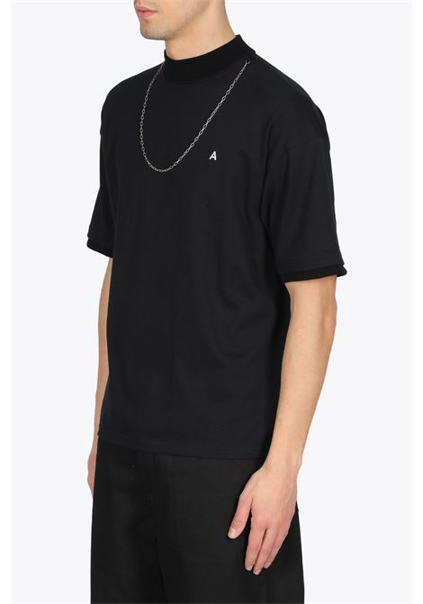 knitted t-shirt new chain t-shirt AMBUSH | 8 | 12112076 KNITTED T-SHIRT NEW CHAIN T-SHIBLACK