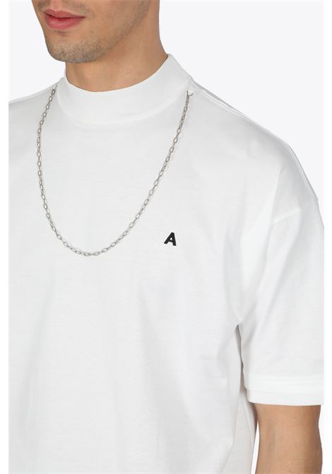 KNITTED T-SHIRT NEW CHAIN T-SHIRT AMBUSH | 8 | 12112076 KNITTED T-SHIRT NEW CHAIN T-SHIWHITE