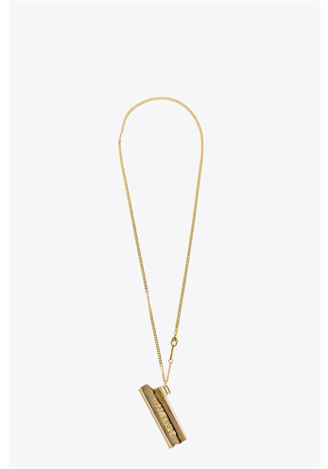 LOGO LIGHTER CASE NECKLACE AMBUSH | 35 | 12112093 ACCESSORY LOGO LIGHTER CASE NECGOLD