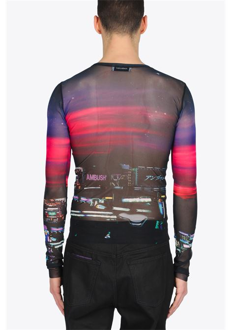KNITTED TOP PRINTED POWER MESH AMBUSH | 40 | 12112173 KNITTED TOP PRINTED POWER MESHMULTICOLOR