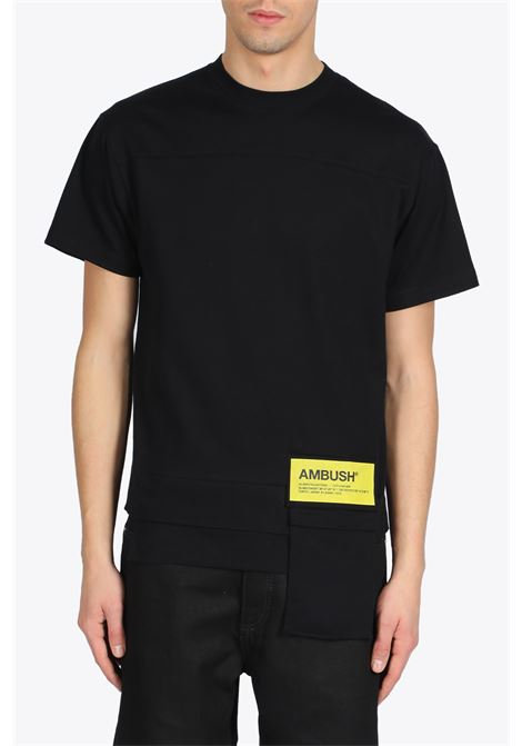 NEW WAIST POCKETS T-SHIRT AMBUSH | 8 | 1212078 WOVEN SGIRT NEW WAISTBLACK