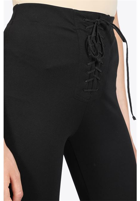 jersey lace up foot leggings BEN TAVERNITI - UNRAVEL PROJECT | 5032243 | UWCD026R20JER001 JERSEY LACE UP FOOT1000
