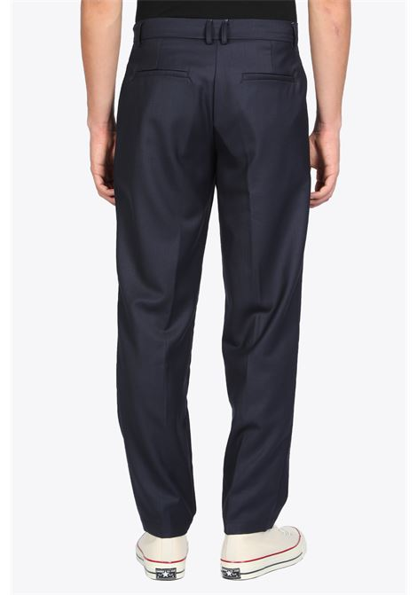 Tailored trousers with pleats BONSAI | 9 | PT004WOOL NAVY