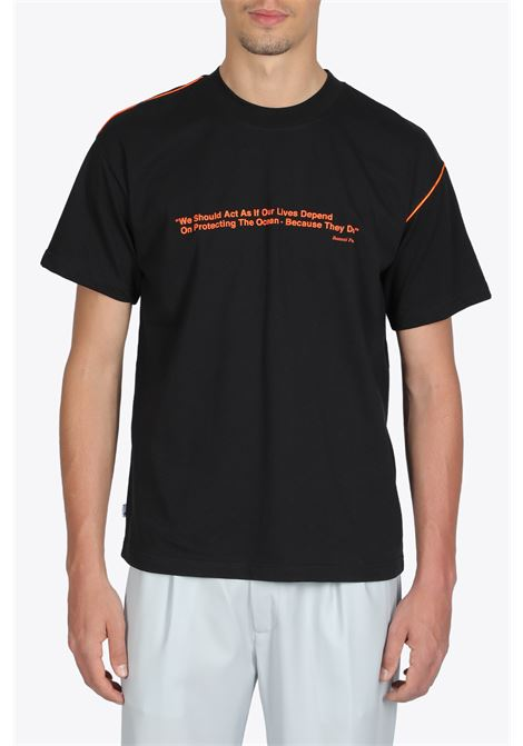 T-SHIRT CON SLOGAN BONSAI | 8 | TS012BLACK
